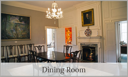 Image of the Dining Room inside Woodburn