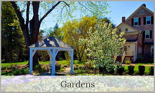 Image of the gardens at Woodburn