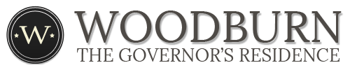 Picture of the Woodburn logo and title