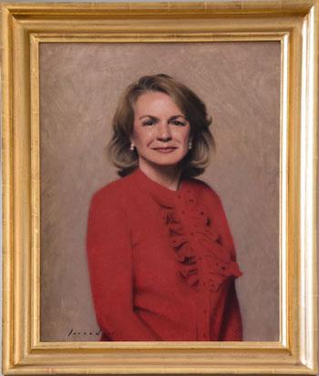 Portrait of Mrs. Martha Stacy Carper