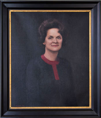 Portrait of Mrs. Lillian Turner Peterson