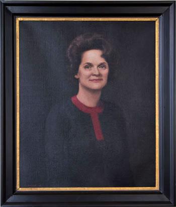 Portrait of Mrs. Lillian Turner Peterson