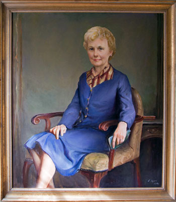 Portrait of Mrs. Jessica Irby Terry