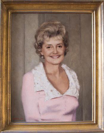 Portrait of Mrs. Jeanne Webb Tribbitt