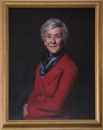 Portrait of Mrs. Clarice Elaine Wolf