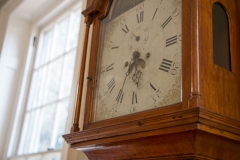 Image of the grandfather clock in the Great Hall
